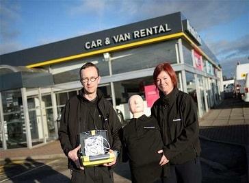 Arnold Clark Car and Van Rental, Inverness Inverness Airport