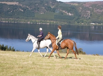 Loch Ness Riding in Inverness