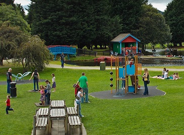Whin Park in Inverness